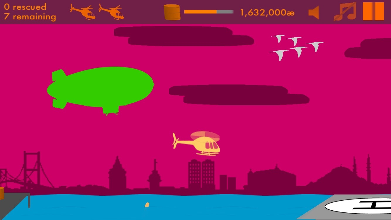 Airlift Game Screenshot